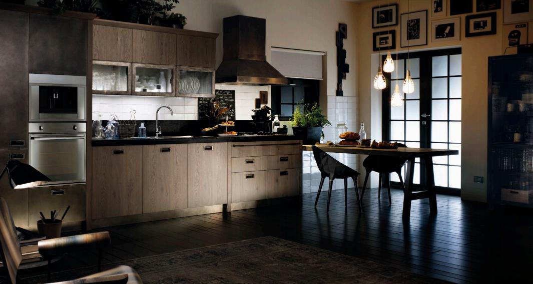 Armadi Firenze Cucina Scavolini Mod.Diesel Social Kitchen in ...