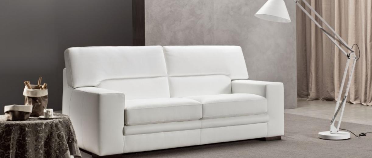 Cuscini Per Divano Bianco Pelle.Armadi Firenze Divano In Pelle Art Ex0004 In Offerta Armadi Su