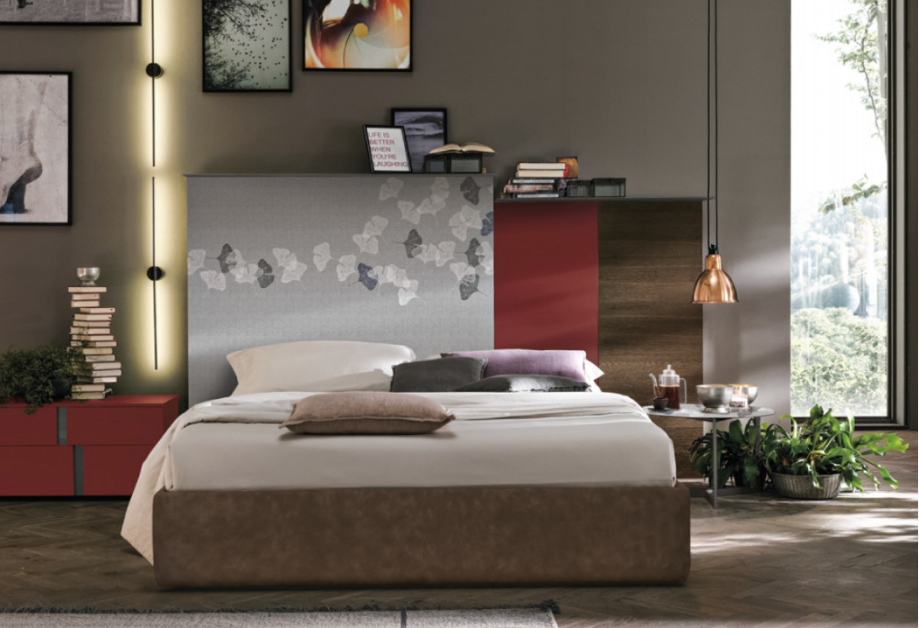 Art. TOM007 Letto Matrimoniale Con Boiserie