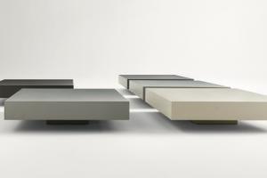 Art.39TA18 Tavolini Laccato Opaco Vari Colori