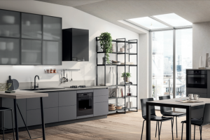 Cucina Mod. Evolution Anta Piana Decorativo Polvere