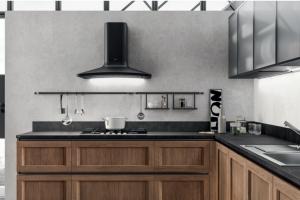 Cucina Mod. Evolution Anta Telaio Decorativo Rovere Land