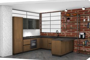 Cucina Mod. Evolution Composizione Maxi