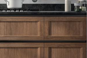 Cucina Scavolini Mod. Evolution Anta Telaio Decorativo Rovere Land