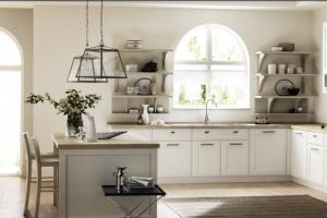 Cucina Scavolini Mod. Favilla Finitura Bianco Laccato Opaco
