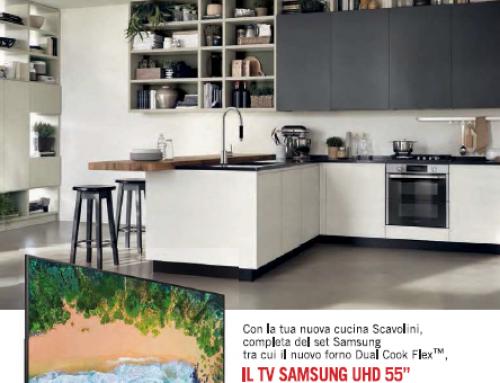 Promozione TV Samsung in omaggio con Scavolini