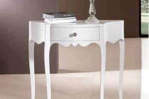 Art. DO0066 Consolle Finitura Laccato Bianco