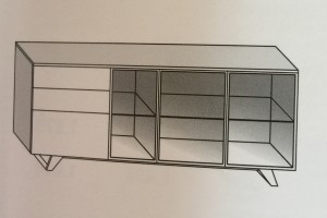Art. RA0107 Versione FT (Vetro Trasparente) Versione FF (Vetro Fumè)