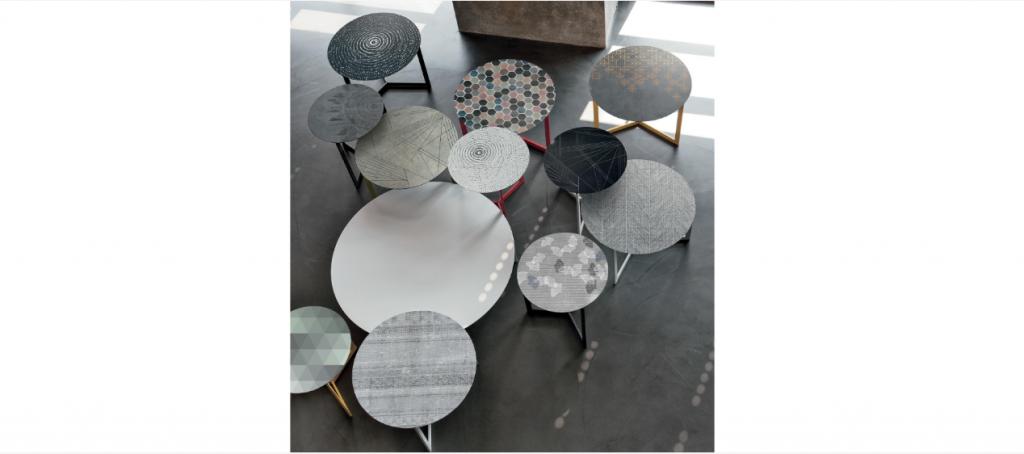 Art. RA0118 Tavolini con Top Serigrafati