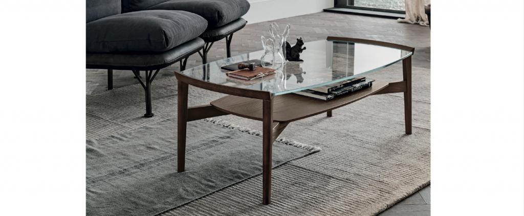 Art. RA0123 Tavolino  L 110 cm Rovere Termocotto