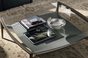 Art. RA0123 Tavolino L 120,5 P 120,5 Struttura Rovere Termocotto