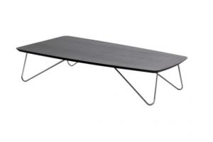 Art. RA0124 Tavolino Laccato Poro Aperto Antracite