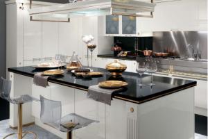 Cucina Scavolini Mod. Baccarat Finitura Bianco Laccato Lucido