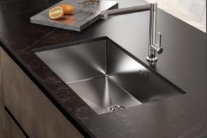Cucina Scavolini Mod. LiberaMente Partiacolare Zona Lavaggio Sotto Top in Acciaio Inox