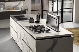 Cucina Scavol ini Mod. LiberaMente Finitura Laminato Statuario